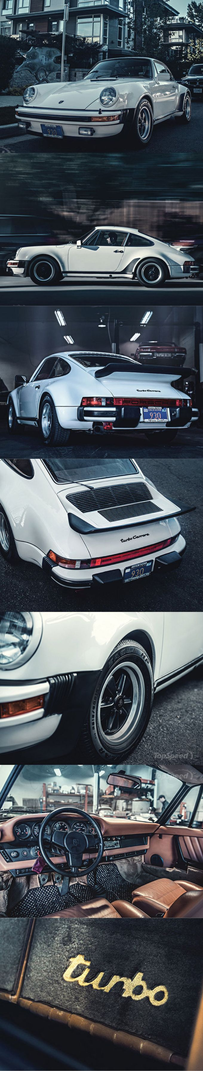 1976 Porsche 911 Turbo Carrera / USDM Germany / white / 256hp 3.0l F6 / www.topspeed.com