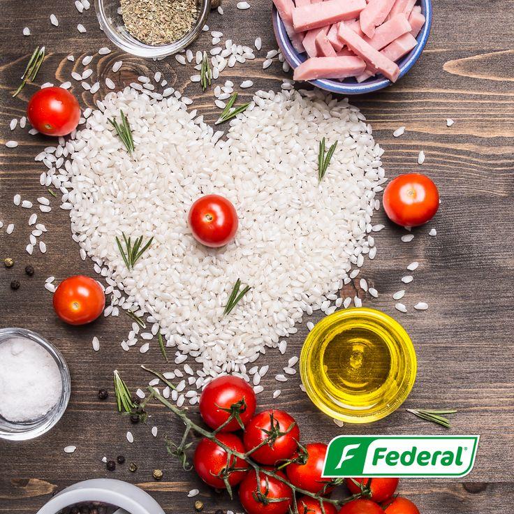 ¡Somos amantes del arroz!  En Federal amamos nuestro arroz, amamos todas sus propiedades y disfrutamos de cada delicioso momento que podemos acompañar con él.  #MaestrosArroceros