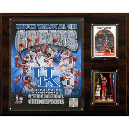 C Collectables Ncaab 12x15 Kentucky Wildcats All-Time Greats Photo Plaque