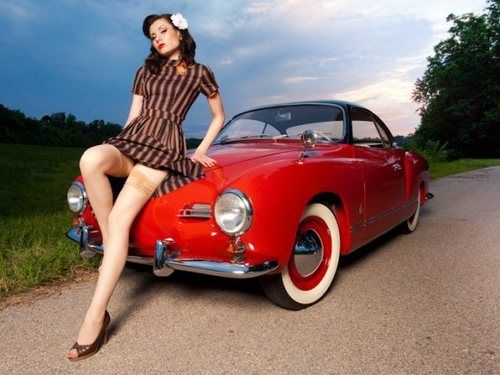 77 Best Pinup Girls Images On Pinterest Car Girls Classic