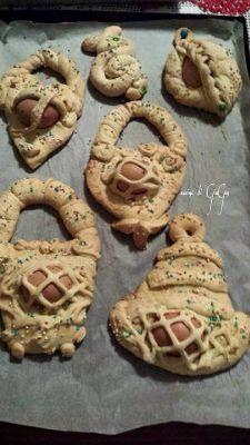 Cudduraci - biscotti Calabrese per Pasqua