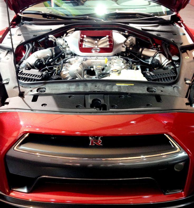 Under The Hood Of The #GTR At #CIAS14
