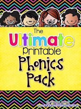 *A TpT Best Seller!* This pack contains over 80 pages of printable phonics activities that are ready-to-use!  No prep work required, just print and copy! Each page is a stand alone activity that your students can work on independently. They work great for word work practice, morning work, literacy centers, or homework.