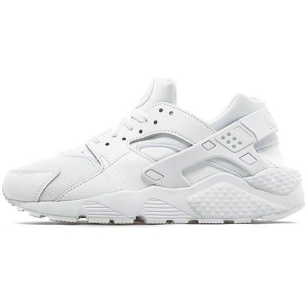 Nike Air Huarache Junior ($78) ❤ liked on Polyvore featuring white