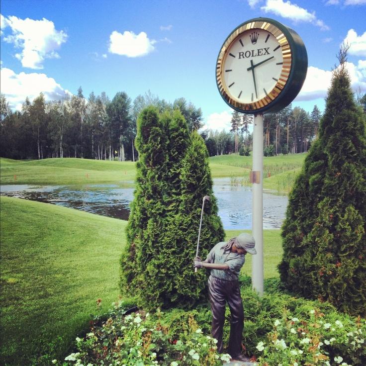 1st tee Linna Golf , Finland