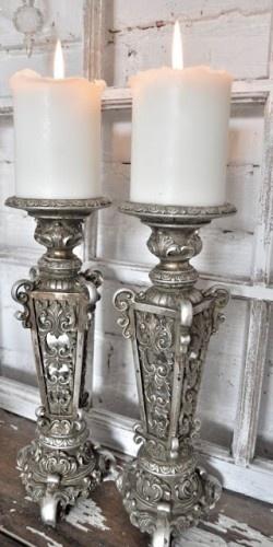@Kristján Örn Kjartansson Rhodes Vintage candlesticks. reminded me of your urns..candle or maybe lamp??