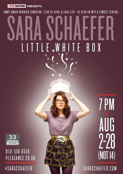 In her debut show Schaefer employs her vulnerable, whip-smart comedy style to confront her complicated relationship with Jesus, America, and death. In the age of Trump, Sara can't separate the deeply personal from the absurdly political and mines her own life to find answers. An endearing show where even the darkest moments are laced with whimsy.