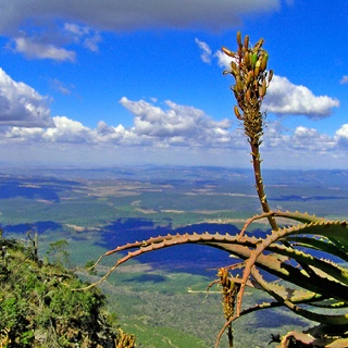Gods window, drakensburg escarpment South Africa