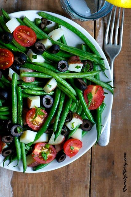 Low calorie, high tasting Green Bean Al Fresco | Namely Marly