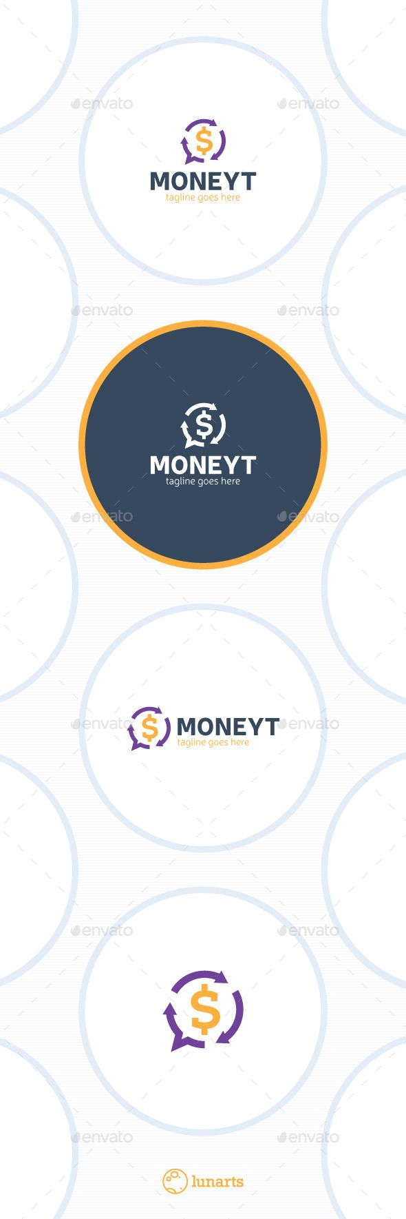 Exchange Chat Logo  Money Transfer — Vector EPS #holding #finance • Available here → https://graphicriver.net/item/exchange-chat-logo-money-transfer/13210065?ref=pxcr