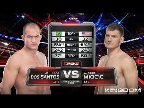 UFC 211 Free Fight: Junior Dos Santos vs Stipe Miocic 1