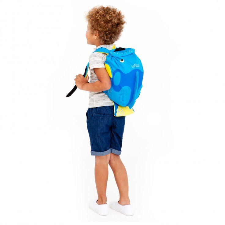 Trunki PaddlePak Sırt Çantası Mavi Balık - Tang #sırtçantası #çocukçantası #backpack #paddlepak #trunki