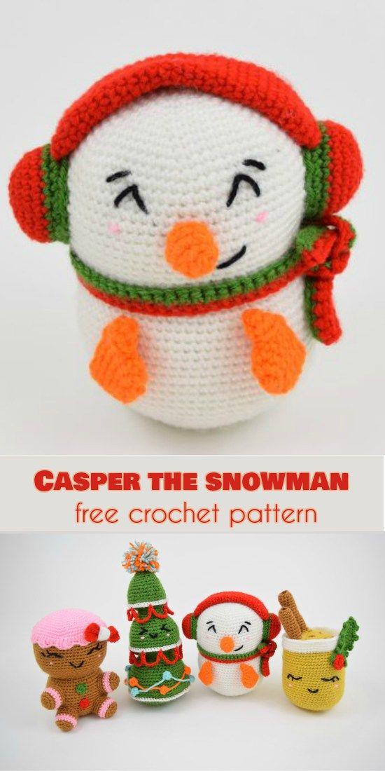 125 best Christmas - snowman images on Pinterest Crochet snowman - kleine feine küche