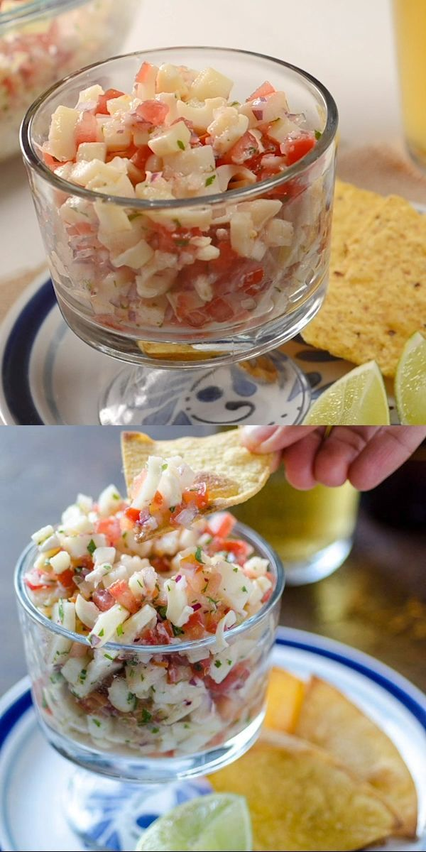 This Vegan Habanero Hearts Of Palm Ceviche Recipe Will Transport You To The Mexican Caribbean With The Combination O Vegan Mexican Recipes Recipes Vegan Dishes