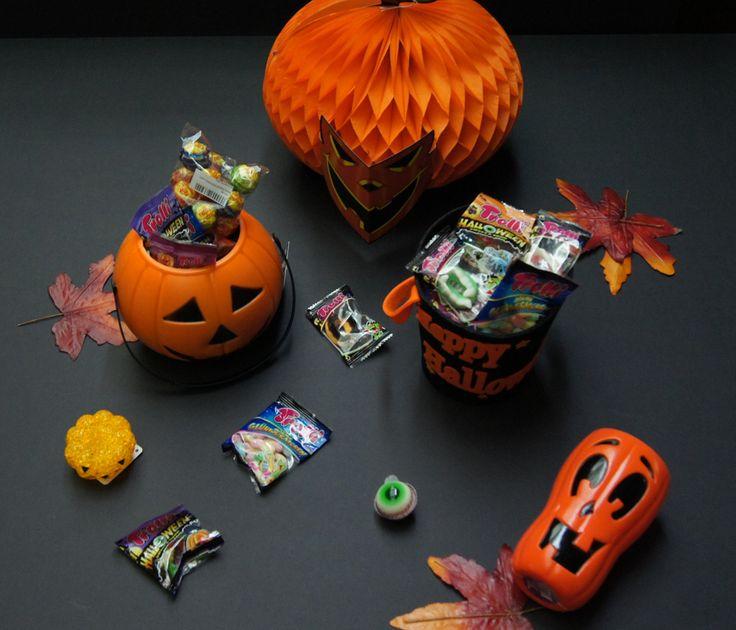 assortiment darticle dhalloween seau en plastique ou en feutrine citrouille - Article About Halloween