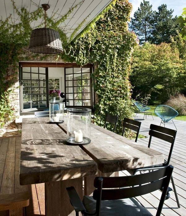 fenêtre carreaux - terrasse