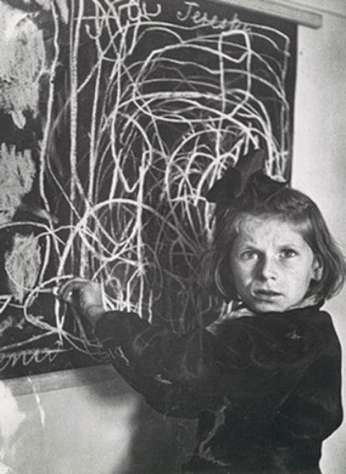 "Tereska, a child in a residence for disturbed children, grew up in a concentration camp. She drew a picture of ""home"". I wonder how things have gone for her since."
