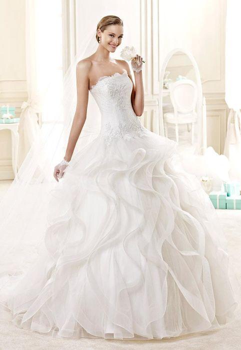 Italian fashion wedding dress 2015  Итальянские Свадебные платья. Коллекция Nicole - Николь 2015 - Milan Style Guide
