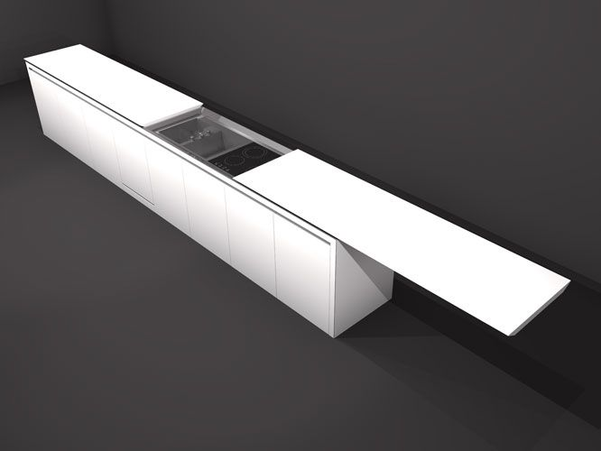 Modern Kitchen K1 Minimalistic Style By Boffi