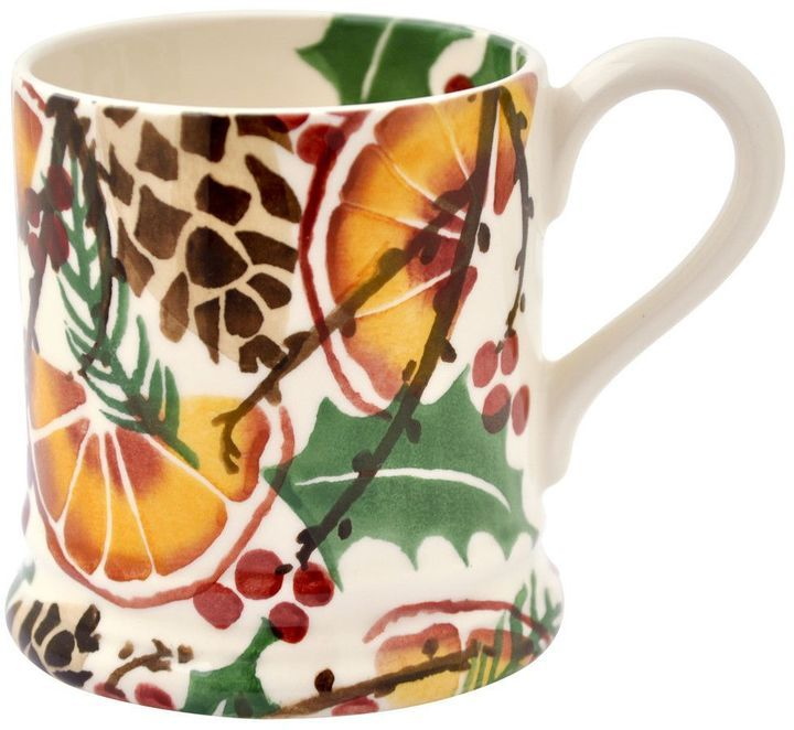 Emma Bridgewater Holly wreath 1/2 pint mug - they also have some great personalised options, too!