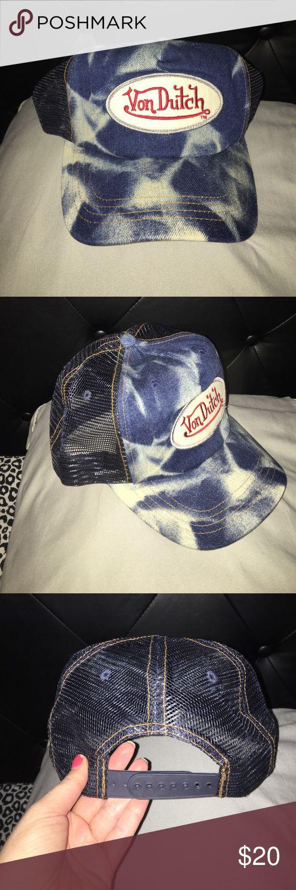 RARE NWOT Von Dutch hat Never worn! Brand new Von Dutch Accessories Hats
