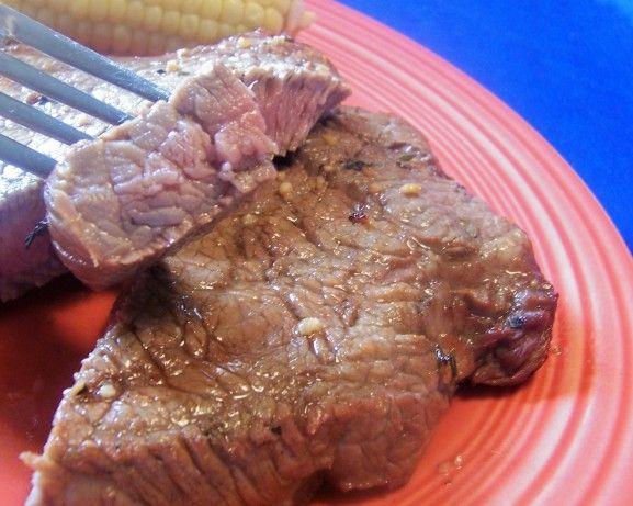 Marinated Top Sirloin Steaks