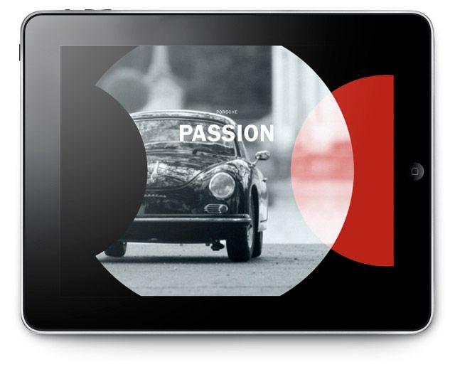 Porsche Christophorus 354 iPad - Kusk