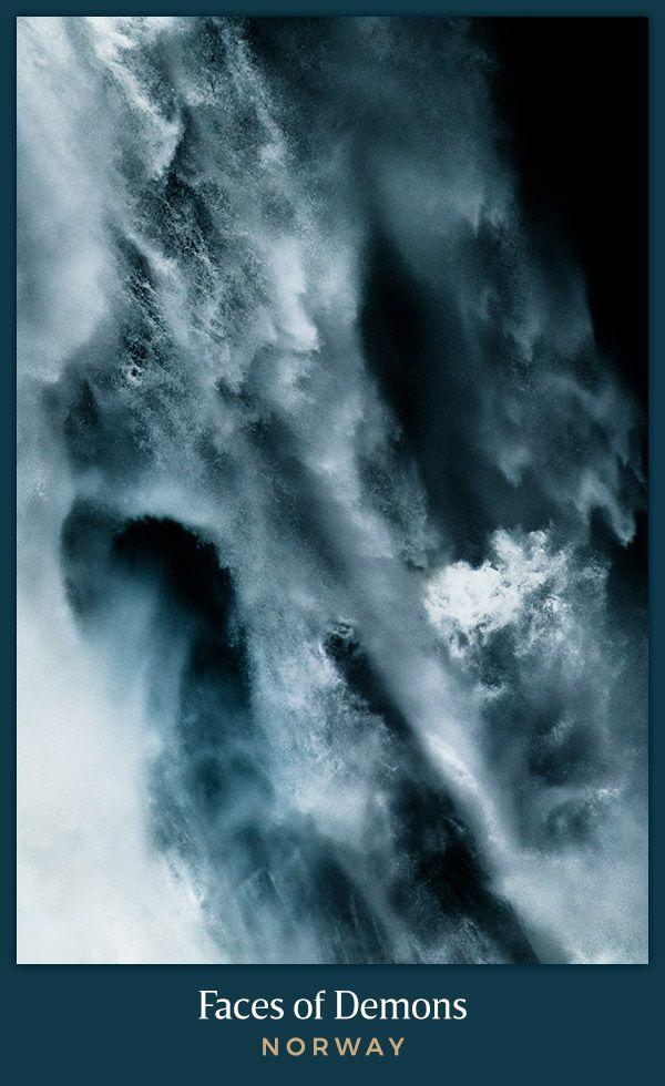 Faces Of Demons Voringfossen Norway Abstract Photography Fine Art Landscape Photography Fine Art Landscape