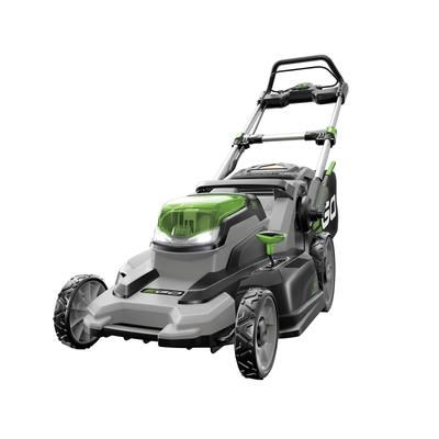 EGO - 20 Inch. 56-Volt Lithium-ion 3-in-1 Cordless Lawn Mower - LM2001 - Home Depot Canada