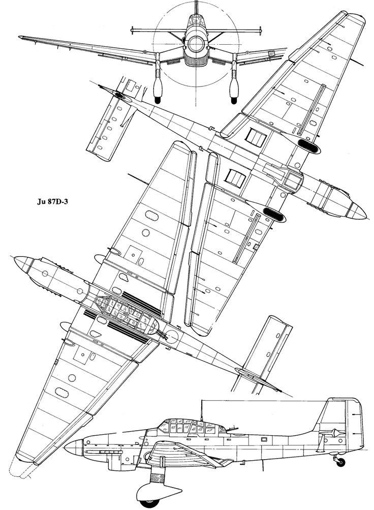German Junkers Ju 87 Stuka Dive Bomber