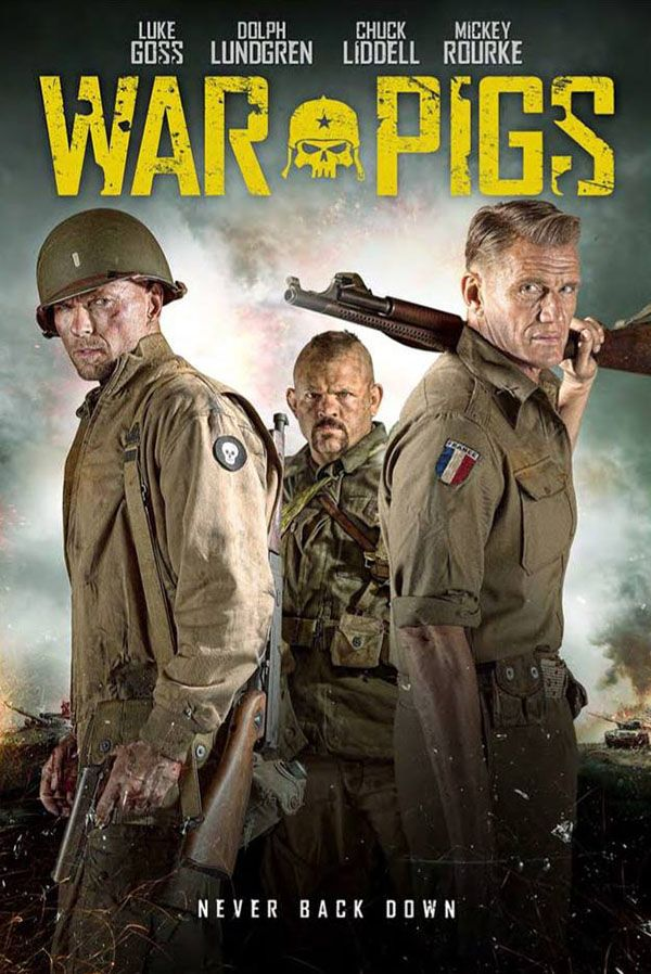 War Pigs - During World War II, two seasoned soldiers must train a ragtag group of doughboys for a mission behind Nazi lines to capture a superweapon.