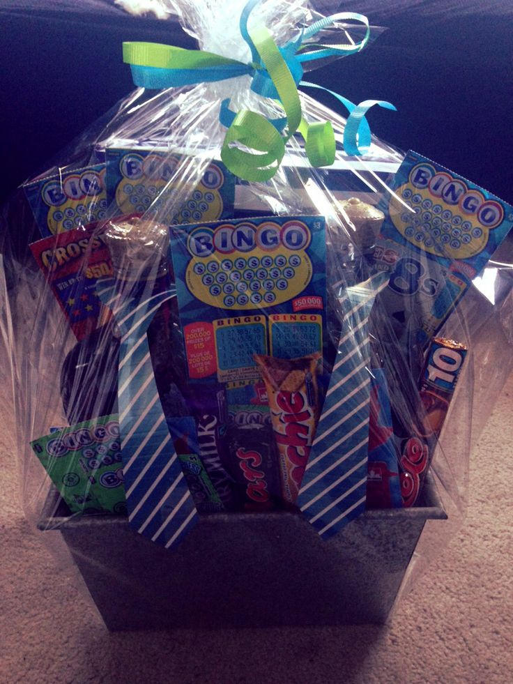 DIY Fathers Day Gift Basket Alcohol Chocolate Bars