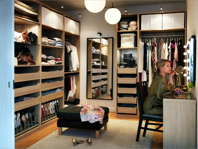 27 best images about closet on pinterest sliding doors for Dressing room ideas ikea