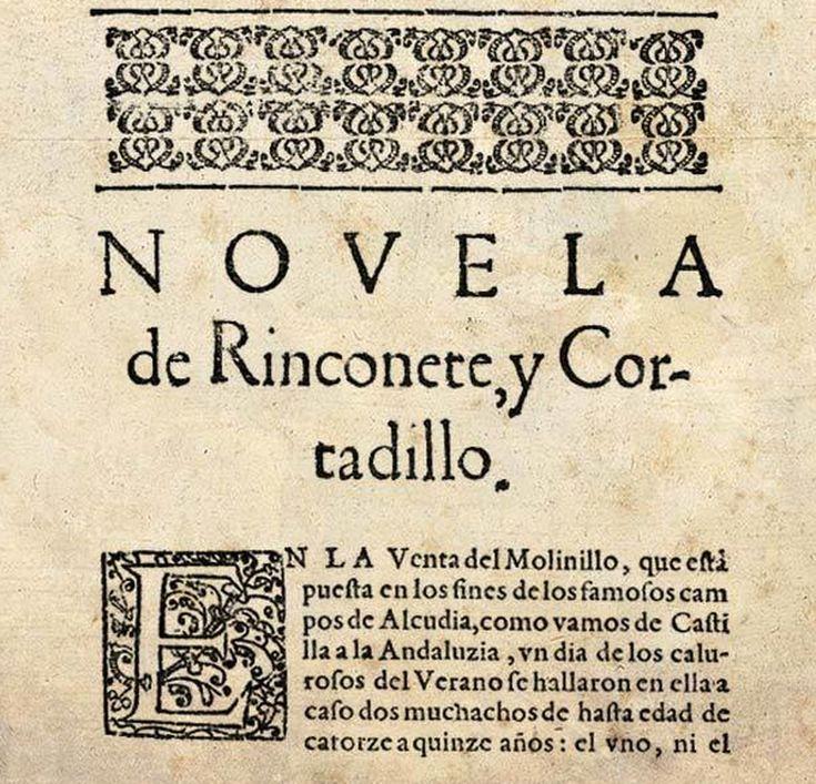 Extracto de Rinconete y Cortadillo, de Miguel de Cervantes (1612).