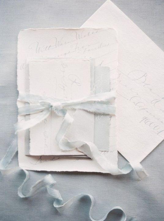 Ocean Inspired Wedding Invitations