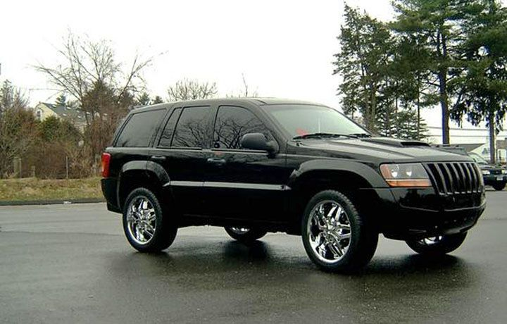 2002 Grand Cherokee shown with the Erebuni 454 kit. The Jeep also ...