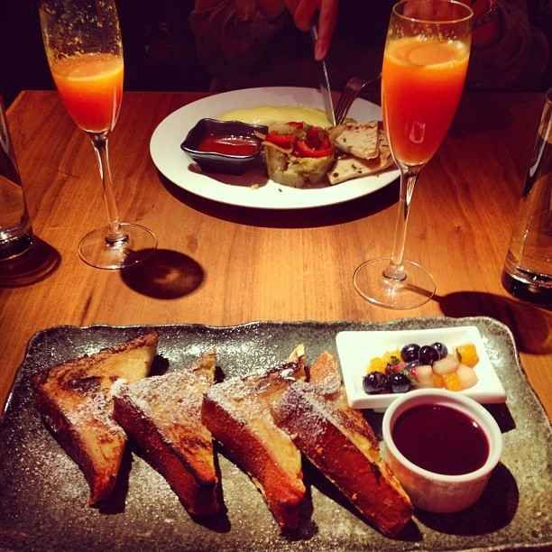 Buzzfeed - places in New York City to get unlimited drinks with brunch... Kittichai, Soho