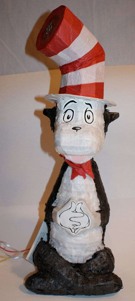 Cat in the Hat Pinata Dr. Seuss Vintage Movie by TheMysteryAttic