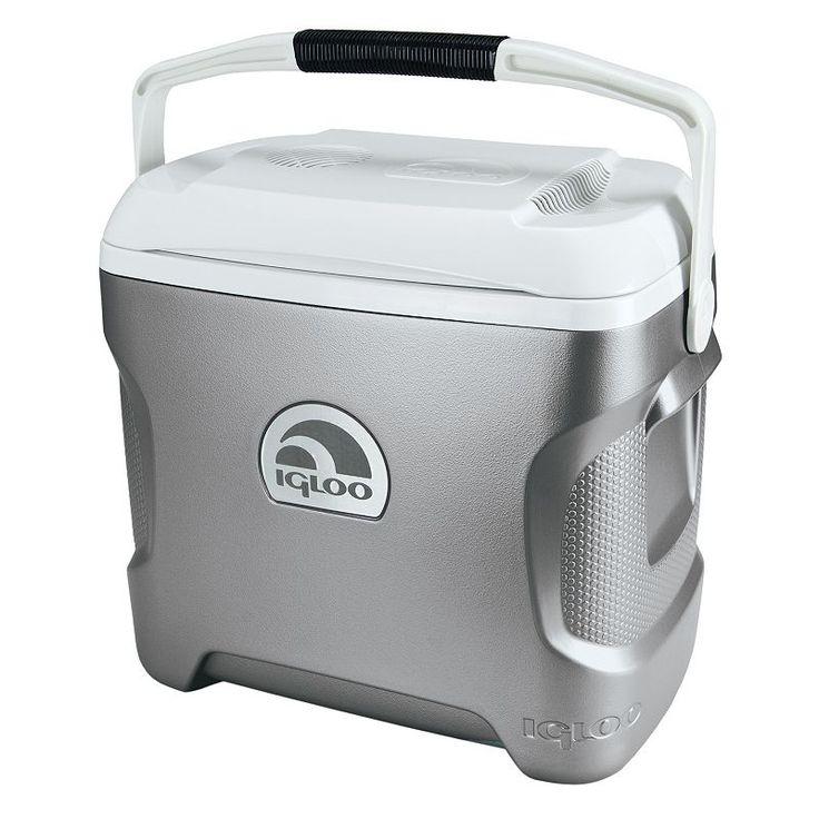 Igloo 28-Quart Iceless Cooler, Silver