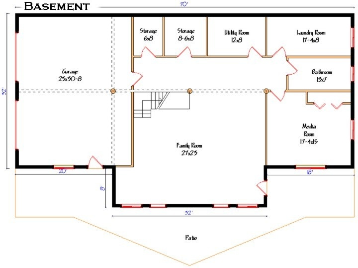 136 best images about pole barn house plans on pinterest Pole barn house plans with basement