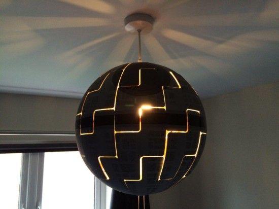 Zo maak je van deze Ikea-lamp een Star Wars-ruimtestation - Het Belang van Limburg