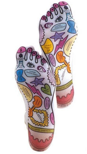 Estas meias de Reflexologia são perfeitas, assim não há dúvida que orgão estamos a tratar quando nos massajam os pés!!  Qualquer pessoa pode usar e fazer