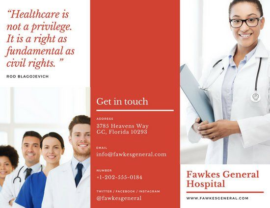 The  Best Medical Brochure Ideas On   Brochure Layout