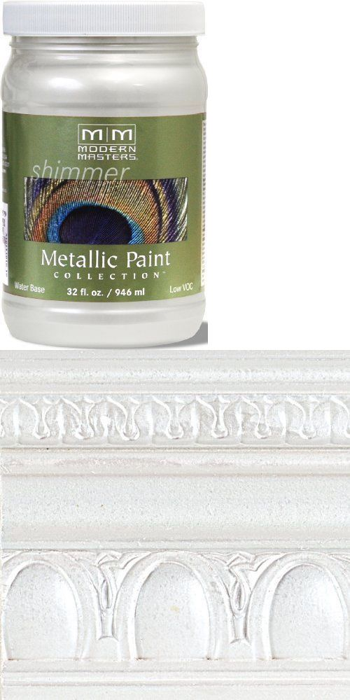 Paint Thinner and Solvents 30554: Modern Masters Me196-32 Metallic Pearl White 32Oz Household Paint Solvents, New -> BUY IT NOW ONLY: $31.85 on eBay!