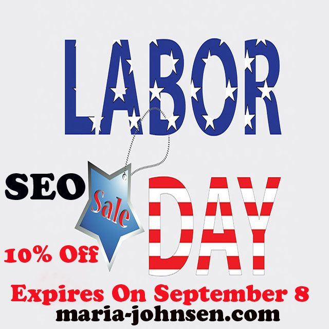 Labor day seo 10% discount offer expires september 8 2015