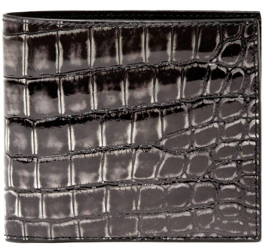 Bottega Veneta Crocodile Wallet