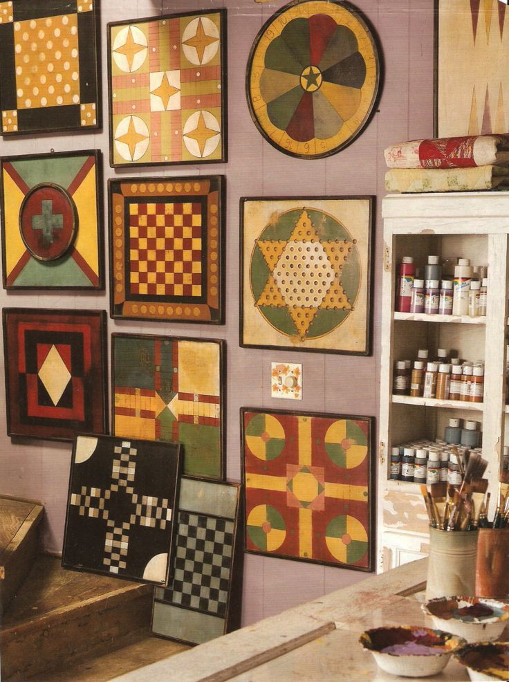 gameboards -not this many, but I do want some in the family room