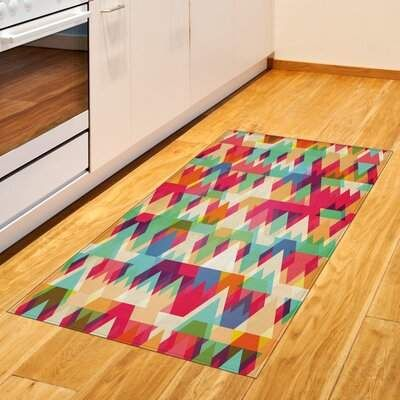 East Urban Home Indie Red Area Rug East Urban Home