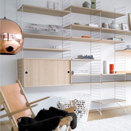 Meeting room book shelves