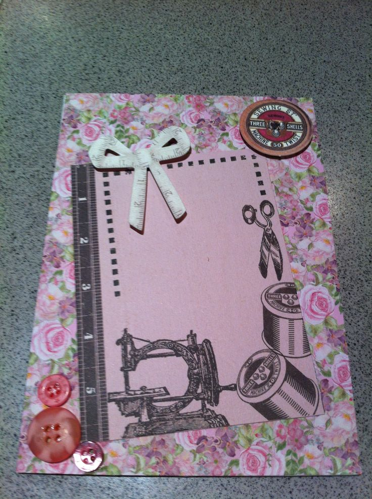 Sewing card
